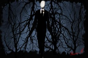 Slender man by Synergy14