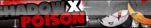 Shadow X Poison Fan Button by ButtonsMaker