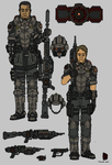Tenebrean Basic Infantry (Camo) by Athalai-Haust