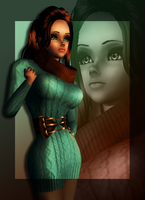 Delia - Fashionable DP by EsotericDichotomy