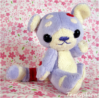 Neopets Plush - Plushie Kougra by TeacupLion