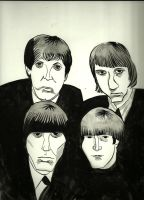 The Beatles by jhames34