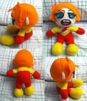 Kid Flash Plushie by Zmagicstorm