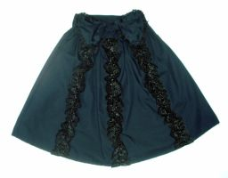 Black Lace Skirt by kawaii-nia