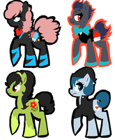 CLOSED: My Little Pony: FIM adoptables 8 by Buttzazzle