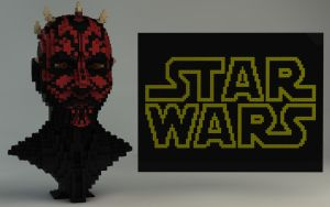 Lego Star Wars Darth Maul 10018 by Dracu-Teufel666