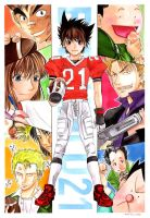 EyeShield 21 : Comic Cosmo by MoreProject
