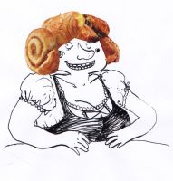 Croissant by chocopois