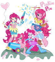 Pinkie pie All versions Cover by Arteses-Canvas