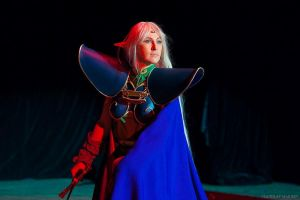 Record of Lodoss War: Deedlit on Animania 2014 by ElenaLeetah