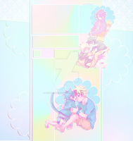 YT layout for inuliedelfen by StrawberryMacarron