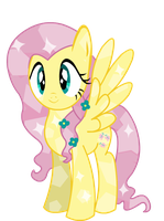 Crystal Fluttershy by TwitchyTail