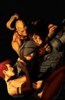Age of Apocalypse #10 by anklesnsocks
