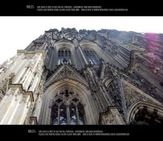 Cologne cathedral 7 by Mithgariel-stock