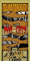 Man-Cats Poster by chillaxinjackson