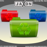 Colorflow Recycle Icons by JayJaxon