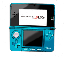 Nintendo 3DS by SpazJackrabbit1