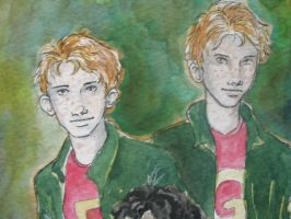 Fred and George by jenimal