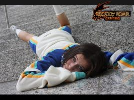 Bloody Roar: Fall on the steps by Yukielein