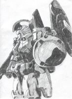 Old: Tallgeese by CrimsonSwiftpaw