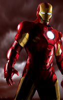 Iron Man 2 Painting by Alblade
