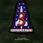 BSG Vigilante Squadron Patch by vectorgeek