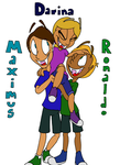 Humanized Maximus, Darina, and Ronaldo by Yo-Snap