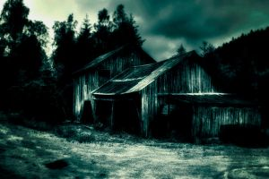 ..the old sawmill... by Espen-Alexander