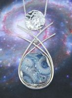 Galaxy Around Your Neck by GipsonDiamondJeweler