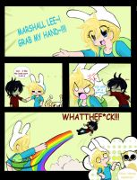 Fionna and Marshal by Finnlover2052