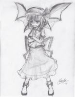 Remilia Scarlet Graphite by Nac0n
