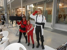 Pyrkon 2014 TF2 Cosplay by SzatanskiLisek