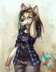 Echoic - Commission by TasDraws
