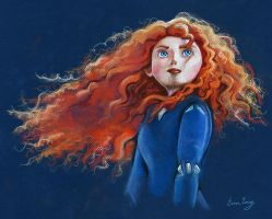 Merida by Rinevee