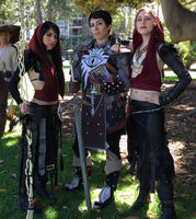 Cassandra Pentaghast and Morrigans by ShaylynB