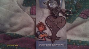KH KeyChain, with box. by Jo-Strife-Ish-Evil