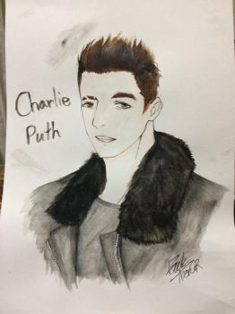 Fan art Charlie Puth by ArthurkunG
