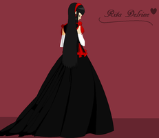 The beautiful Rita dressed for a special event! by lilliethecat