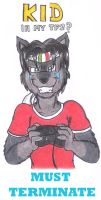 Ota when plays videogames XD by DingoPatagonico