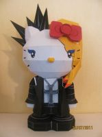 Visual Kei Hello Kitty by x0xChelseax0x