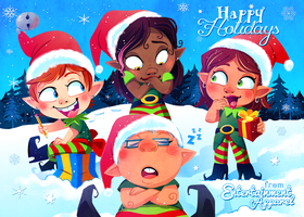 Happy Holidays by Kuitsuku