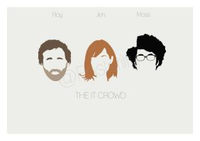 The IT Crowd Minimal Poster Art Posteritty by Posteritty