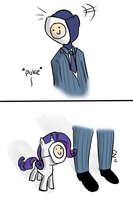 The littlest spy. by Elslowmo