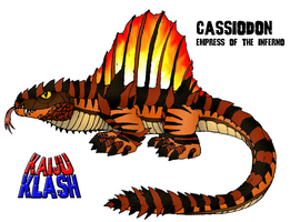 Cassiodon: Empress of the Inferno by FiftyFootWhatever