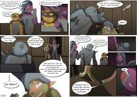 TMNT DR: Pages 23-24 by Samantai