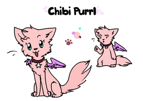 Chibi Purrl Reference 2014 by Purrlstar