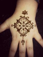 First Henna by Nessie905