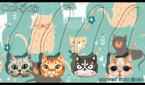 Cat-bag by Angelica-Lime