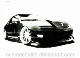 Toyota Mark II W.I.P by osamashaikh