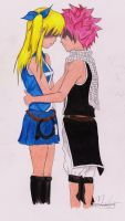 Missed You - Lucy And Natsu by xMomooh